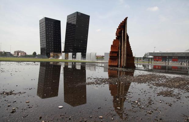 Maria Cristina Carlini, La nuova città che sale, 2014