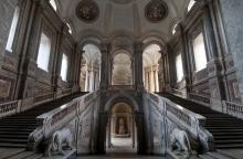 Reggia di Caserta, Scalone Reale , Irma Bianchi Comunicazione