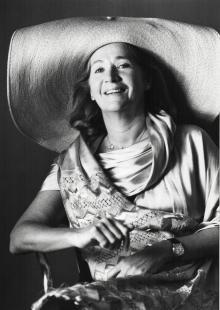 Rosellina Archinto, 1987, © Maria Mulas - Irma Bianchi Comunicazione