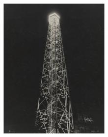 Illuminazione speciale del Duomo e di altri luoghi storici di Milano in occasione delle visite di Benito Mussolini, 1933-1936, Antonio Paoletti - Irma Bianchi Comunicazione