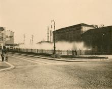 Vasche di raffreddamento della centrale Aem di piazza Trento, anni Trenta, Gianni Moreschi - Irma Bianchi Comunicazione
