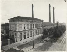 La centrale termoelettrica comunale di piazza Trento (1905), anni Venti, Antonio Paoletti - Irma Bianchi Comunicazione