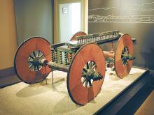 Carro cerimoniale protostorico, V sec. a.C., Irma Bianchi Comunicazione