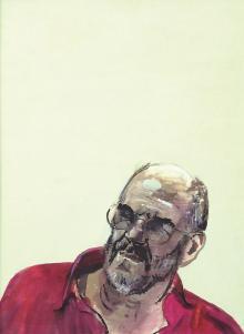 Ritratto di Francesco all'aperto, 2001, Luca Vernizzi - Irma Bianchi Comunicazione