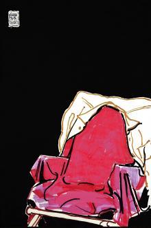 Solitudine in camicia ocra, 2015, Luca Vernizzi - Irma Bianchi Comunicazione