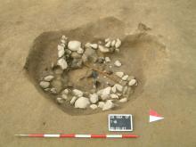 Tomba 16 del Nuovo Ospedale sant'Anna di Como, in corso di scavo, Irma Bianchi Comunicazione