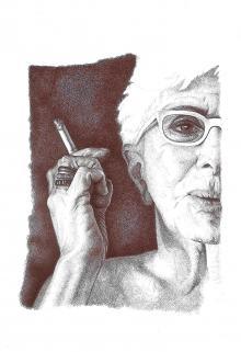 Lina Wertmuller, 2012, collezione Conversazioni a Bic, 2010-17, Adele Ceraudo - Irma Bianchi Comunicazione