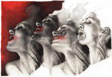 Senza Titolo, collezione Nuotando nell'Aria, 2013-2015, Adele Ceraudo - Irma Bianchi Comunicazione