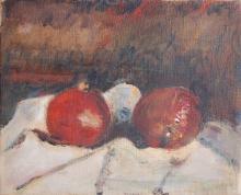 Melograni - natura morta, 1948, Arturo Tosi - Irma Bianchi Comunicazione
