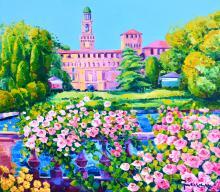 Profumo di rose intorno al Castello Sforzesco, 2017, Athos Faccincani - Irma Bianchi Comunicazione