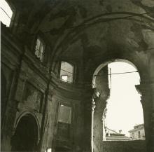 Milano, San Sisto, interno, post agosto 1943 - ante 1960, Claudio Emmer - Irma Bianchi Comunicazione