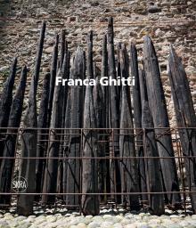 Copertina monografia Franca Ghitti, Skira editore, 2016, Irma Bianchi Comunicazione