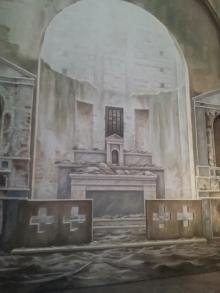 80mq di silenzio, 2017, dettaglio, Domenico Fazzari - Irma Bianchi Comunicazione