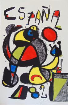 Coppa del Mondo Spagna 82, 1981, Joan Miró - Irma Bianchi Comunicazione