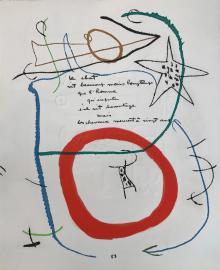 Senza Titolo, 1975, Joan Miró - Irma Bianchi Comunicazione