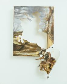Unsure footing – unfolding the myth of power, 2006, Titus Kaphar - Irma Bianchi Comunicazione