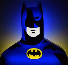 Batman, 2017, Marco Lodola - Irma Bianchi Comunicazione