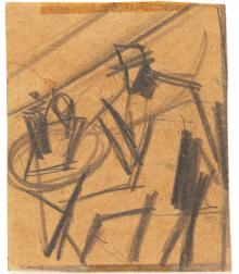 Bevitore al caffè, 1925-26, Mario Sironi - Irma Bianchi Comunicazione