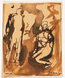 Composizione con figure, 1930-31, Mario Sironi - Irma Bianchi Comunicazione