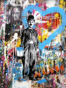 Chaplin, 2017, Mr. Brainwash - Irma Bianchi Comunicazione