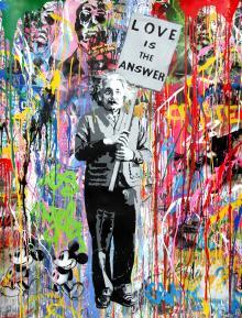 Einstein, 2016, Mr. Brainwash - Irma Bianchi Comunicazione