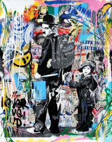 Just Kidding, 2017, Mr. Brainwash - Irma Bianchi Comunicazione
