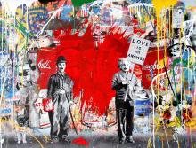 Juxtapose, 2017, Mr. Brainwash - Irma Bianchi Comunicazione