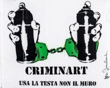 Criminart, 2013, Mr. Savethewall - Irma Bianchi Comunicazione