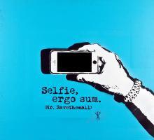 Selfie ergo sum, 2018, Mr. Savethewall - Irma Bianchi Comunicazione