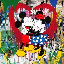 Mickey e Minnie, 2017, Mr. Brainwash - Irma Bianchi Comunicazione