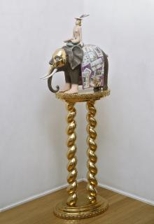 L'elefantino del marchesino, 2000-2007, Luigi Ontani - Irma Bianchi Comunicazione