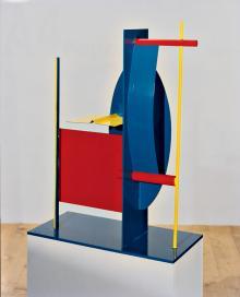 Quadrato Rosso, 1990, Salvatore Cuschera - Irma Bianchi Comunicazione