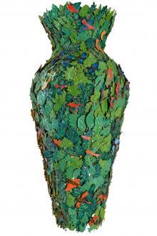 Il vaso della foglia, 2011, Tarshito - Irma Bianchi Comunicazione