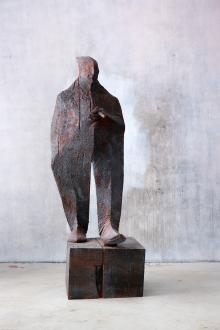 Uomo con sigaro, 2016, Wilhelm Senoner - Irma Bianchi Comunicazione
