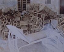 Alessandra D'Agnolo, 1999, tecnica mista su foto, cm 30x24