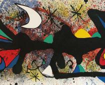 Joan Miro, Senza Titolo 2, 1974