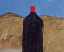Filippo La Vaccara, Senza titolo, 1999, acrilico su carta, cm 200x180, foto Armando Tomagra