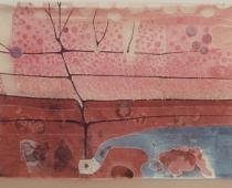 Laura Marchetti, Infanzia, 2001, filo di cotone