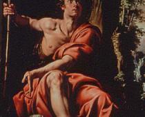 Tanzio da Varallo, San Giovanni Battista, The Philbrook Museum of Art, Tulsa