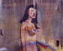 Dan McCarthy, Decora, 1999, olio su tela, cm 158x142