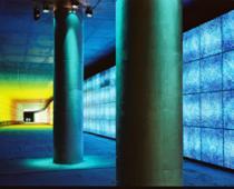 Baer + Knell, Colours of Consumerism, installazione, progetto per la MM di Porta Venezia, Milano