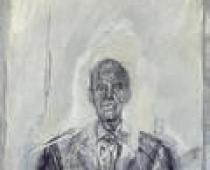 Alberto Giacometti, Ritratto del Prof. Corbetta, 1961, olio su tela, cm 60x50